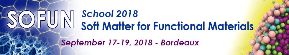 So Fun 2018 Summer school - Sciencesconf org